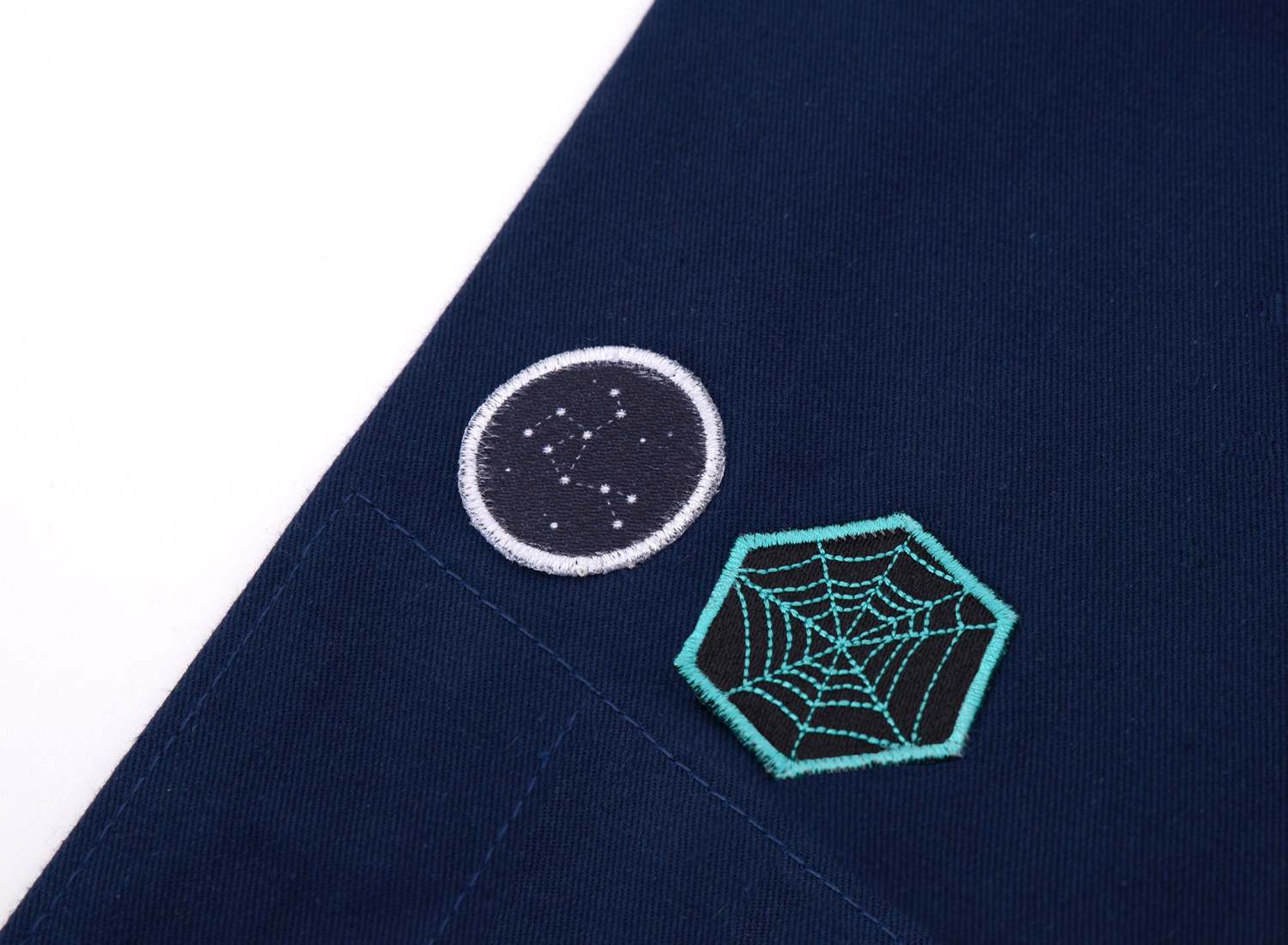 Spider web, Star road Patch Set